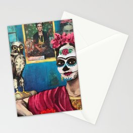 Frida La Muerta Stationery Cards