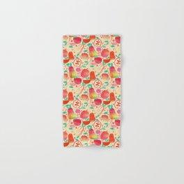 Red Apples & Pears Hand & Bath Towel