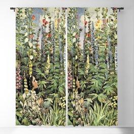 12,000pixel-500dpi - Jessie Willcox Smith - A Child's Garden Of Verses - Digital Remastered Edition Blackout Curtain