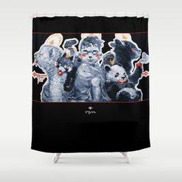 Cub Cuddlin' Shower Curtain
