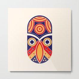 owl skull Metal Print