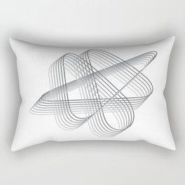 Neverending lines Rectangular Pillow