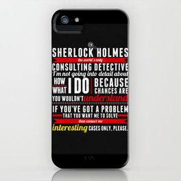Interesting Cases Only iPhone Case