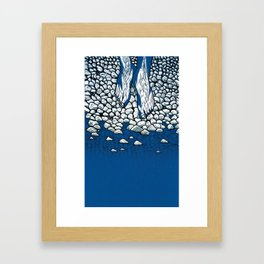 I Might Be A Part Of This Ripple On Water (3-Colour) Framed Art Print