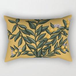 Citrus Branch Rectangular Pillow