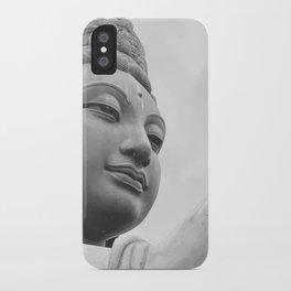 Buddha Face iPhone Case