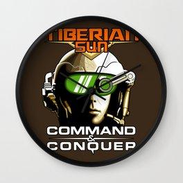 Tiberian Sun Commander Wall Clock
