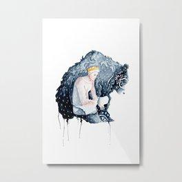 The Bear Prince Metal Print