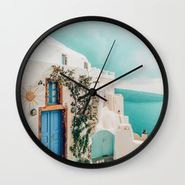 Holiday Home #travel #photography Wall Clock
