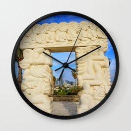 Gate of Faith Wall Clock