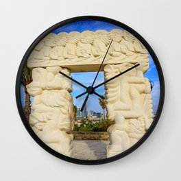 Gate of Faith Wall Clock