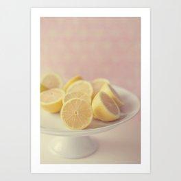 Pretty Lemons Art Print