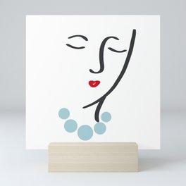 Simply She Mini Art Print