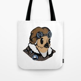 Sergeant Fluff n Feathers Tote Bag