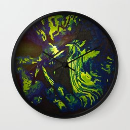 Thermal Predator Wall Clock
