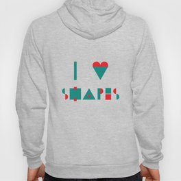 I heart Shapes Hoody