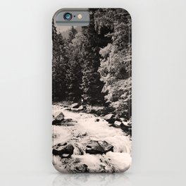 retro dark Harz old psoter iPhone Case