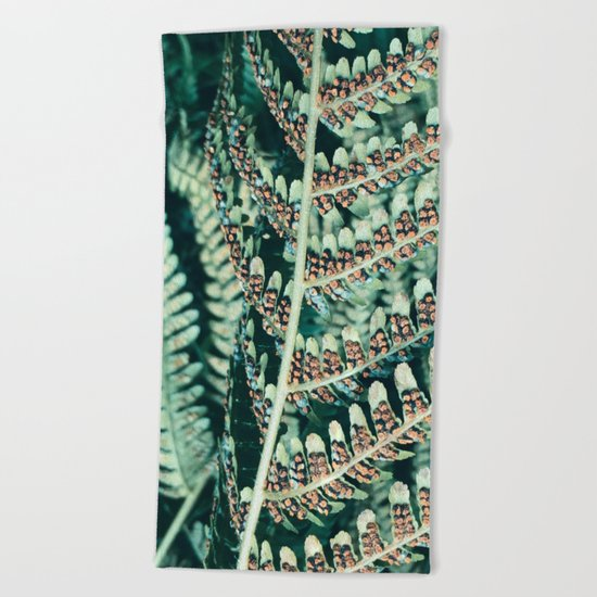 Fern Life Beach Towel