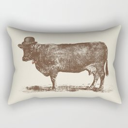 Cow Cow Nut #1 Rectangular Pillow