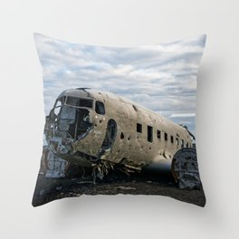 Never Moving Throw Pillow