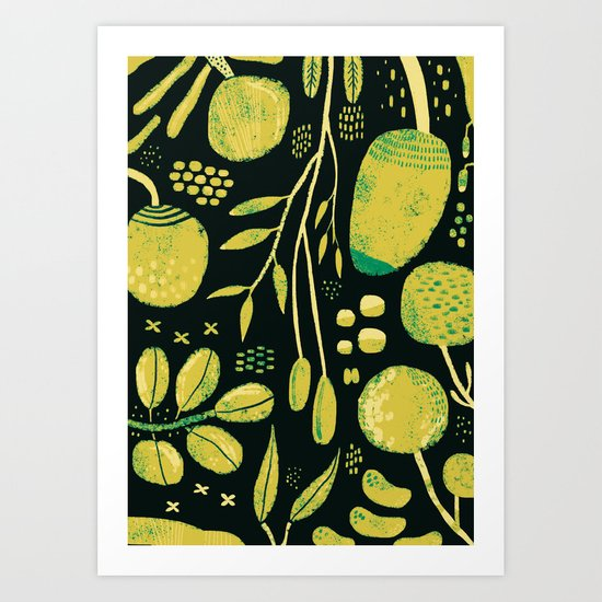 Fiori Art Print