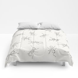 Ants and cake Comforters