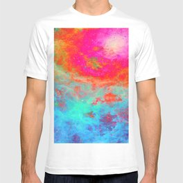 Galaxy : Bright Colorful Nebula T-shirt
