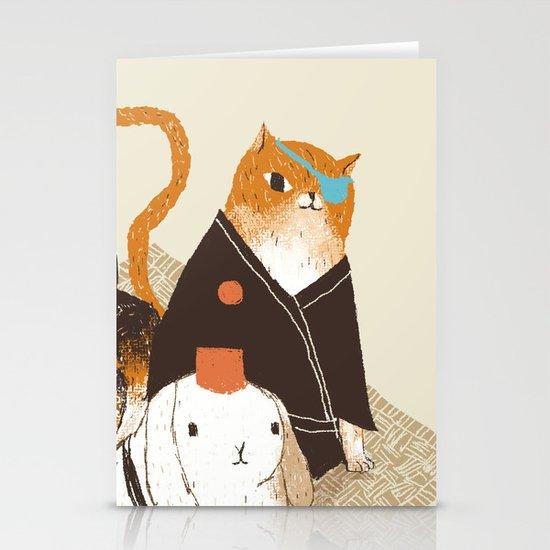 samurai's Stationery Cards