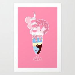 Sugar Sunrise Art Print