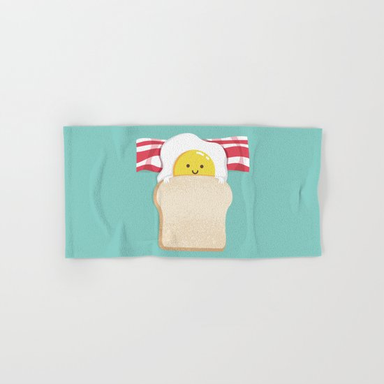 Morning Breakfast Hand & Bath Towel