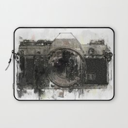 retro camera illustration / painting /drawing  2 Laptop Sleeve