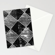 Chequers I Black Stationery Cards