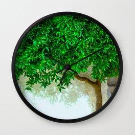 Mandarin Tree Wall Clock