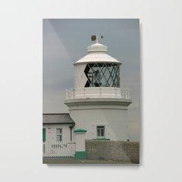 Durlston Lighthouse Metal Print