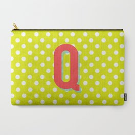 Q is for Quality Carry-All Pouch