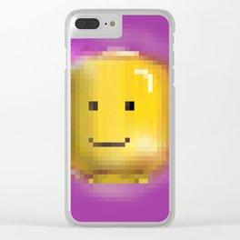 Pixel Illuminati Clear iPhone Case
