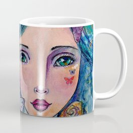 Peyton Whimsical Face Coffee Mug