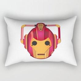 cyber iron man Rectangular Pillow