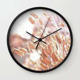 Memories of last summer Wall Clock