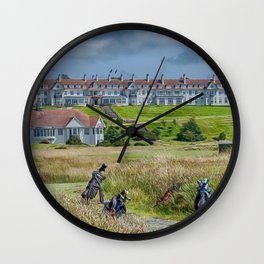 Turnberry Hotel and Golf Course Wall Clock