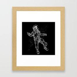 F-You Astronaut* Framed Art Print
