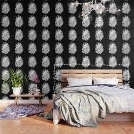 Chupacabra en las flores Wallpaper