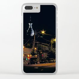 University of Tampa Clear iPhone Case