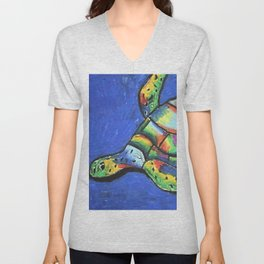 SeaTurtle Unisex V-Neck