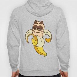banana Cat Fruits food cats Hoody