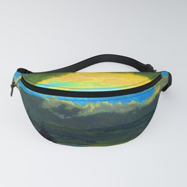 Frederic Edwin Church Sunset Across the Hudson Valley Fanny Pack