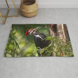 Pileated Woodpecker 6340 Rug