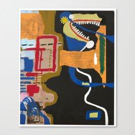 Pog Afterlife (Panel #6) Canvas Print