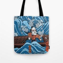 Gathering Ghosts (After Kuniyoshi) Tote Bag