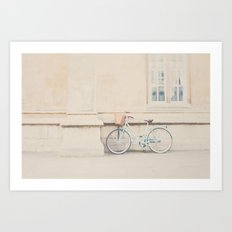 the perfect way to travel ...  Art Print